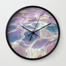 Liquid Rainbow Wall Clock