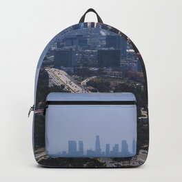 USA Photography - The Big City Of Los Angeles Backpack
