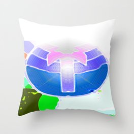 The Only Way is Up Throw Pillow
