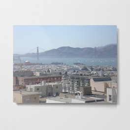 San Francisco, 3:00 PM Metal Print