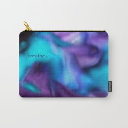 Fluid dreams of breathing Carry-All Pouch