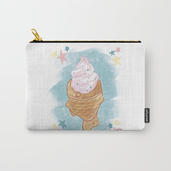 Taiyaki Ice Cream Carry-All Pouch