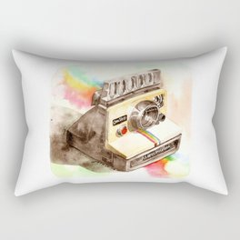 Vintage gadget series: Polaroid SX-70 OneStep camera Rectangular Pillow