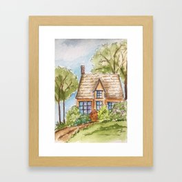 Come For Tea Framed Art Print