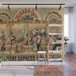 1896 Orient Express musical revue Paris Wall Mural