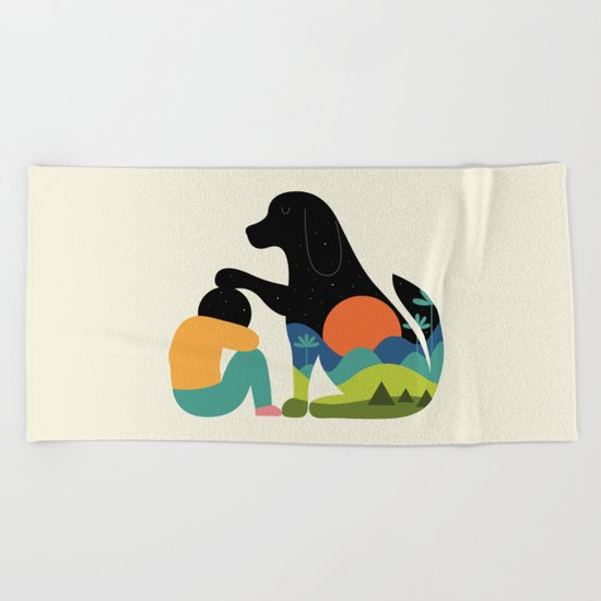 The Best Is Yet To Come Beach Towel