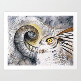 Ocular Labyrinth Art Print