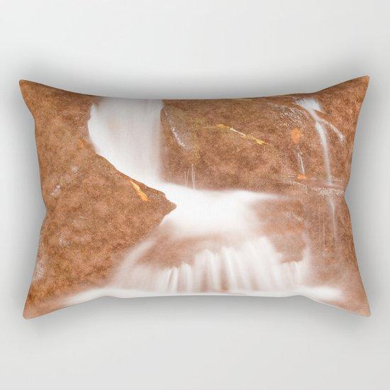 Vintage Velvet Waterfall Rectangular Pillow