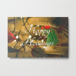 Happy Holidays  #1 Metal Print