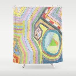 Alchemy 1 Shower Curtain