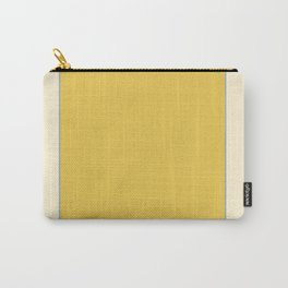 Warm Sunlight Color Block Carry-All Pouch