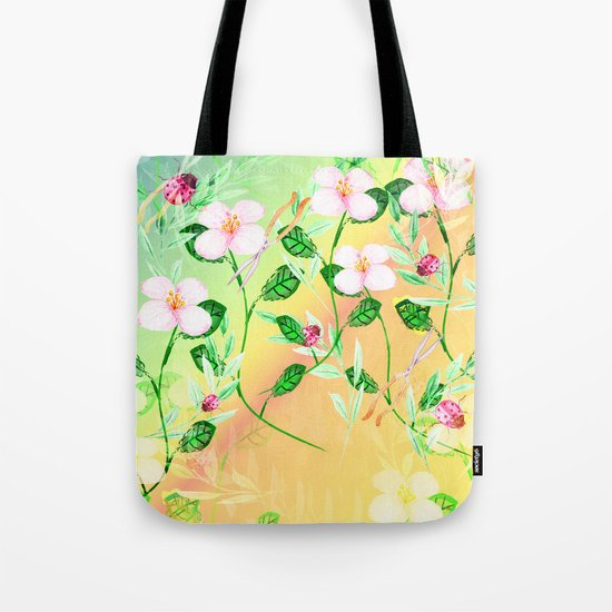 Garden Frenzy Day Tote Bag