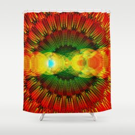 Antares: The Rival of Mars Shower Curtain