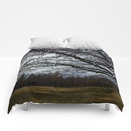 spring trees Comforters