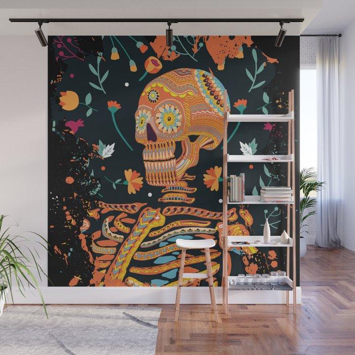 Day Of The Dead Skeleton Dia De Los Muertos Sugar Skull Cool Design