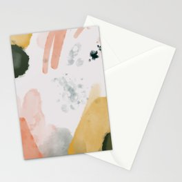 Fall Paint Palette Stationery Cards