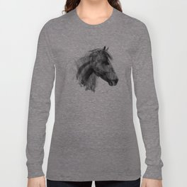 Wild horse  Long Sleeve T-shirt