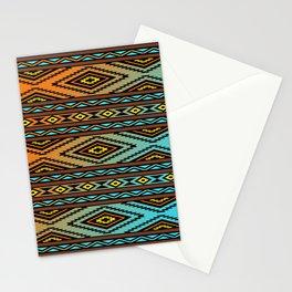 Orange and Turquoise Pendleton Stationery Cards