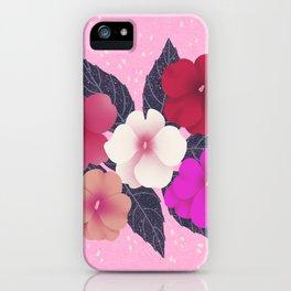 IMPATIENS iPhone Case