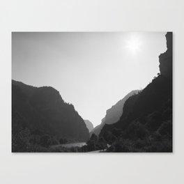 Trailhead, FILM Canvas Print