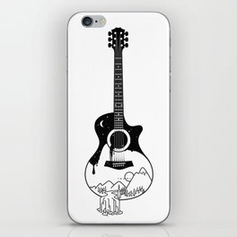 The intriguing sounds of nature iPhone Skin