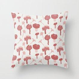 Chanterelle (Wild Meadow) Throw Pillow
