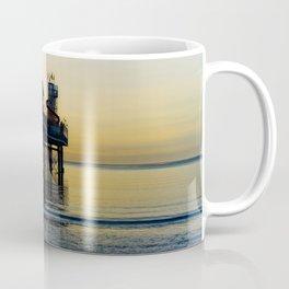 Paignton Pier At Sunrise Coffee Mug