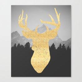 Mountain Life Print Canvas Print