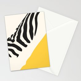 Zebra Abstract Stationery Cards