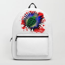 Grenade Comic Exclamation Backpack