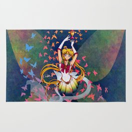 Super Sailor Moon and Rainbow Moon Chalice Rug