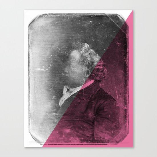 DAG I - pink Canvas Print