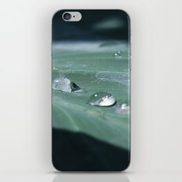 water droplet reflections iPhone Skin