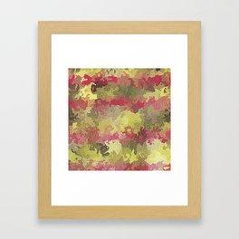 fiery marble 011 Framed Art Print