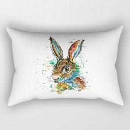 Bunny Rabbit - Real Bunny Rectangular Pillow