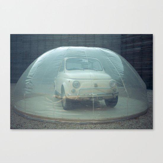 bubble car Canvas Print