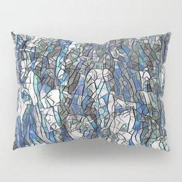Abstract blue 2 Pillow Sham