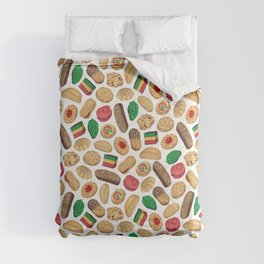 Italian Cookie Pattern Comforters
