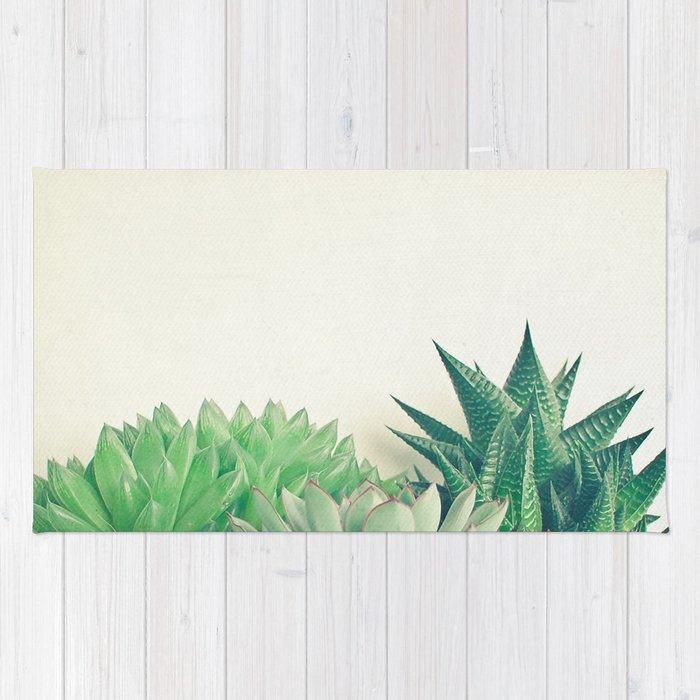 Succulent Forest Rug