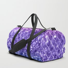 Mermaid Scales on Unicorn Girls Glitter #19 #shiny #decor #art #society6 Duffle Bag