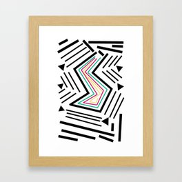 I Want All Of Those Things Framed Art Print