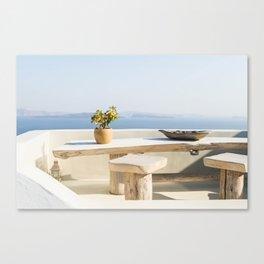 Santorini, Greece #society6 #decor #buyart Canvas Print