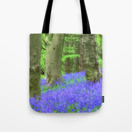 Bluebell Woods, The Wenallt #2 Tote Bag