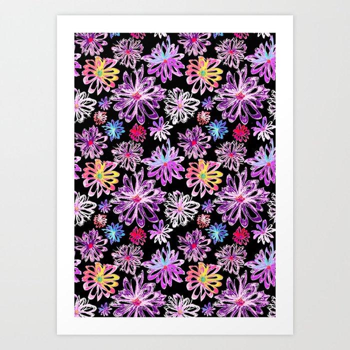 Painted Floral II Art Print