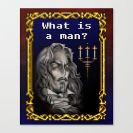 Dracula Jeopardy Canvas Print
