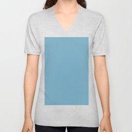 Moonstone blue Unisex V-Neck