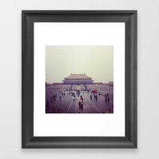 The Forbidden City Framed Art Print