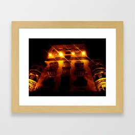 Night Crest 2 Framed Art Print