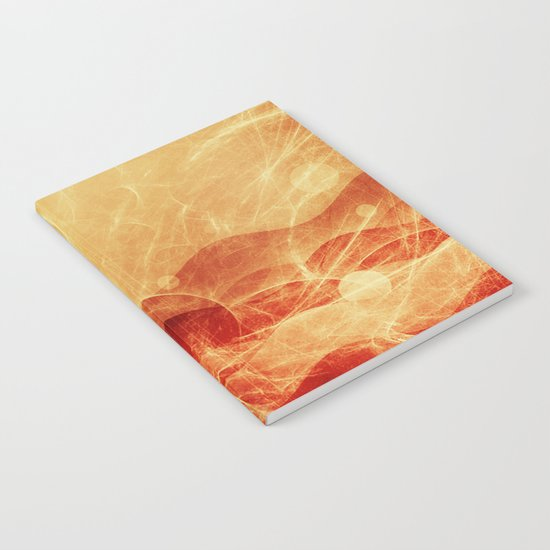 Energy Waves - Fire Version Notebook
