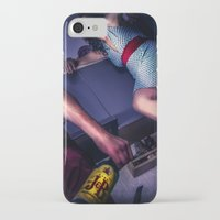 alcohol iPhone & iPod Cases featuring The fear of alcohol by lightmuch